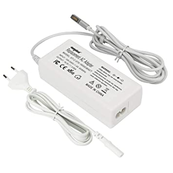 Sunydeal Cargador Adaptador 16.5V 3.65A 60W para Macbook y Macbook pro de 13 pulgadas(Antes de Octubre de 2012), A1181 A1278 A1184 A1330 A1342 A1344 ...
