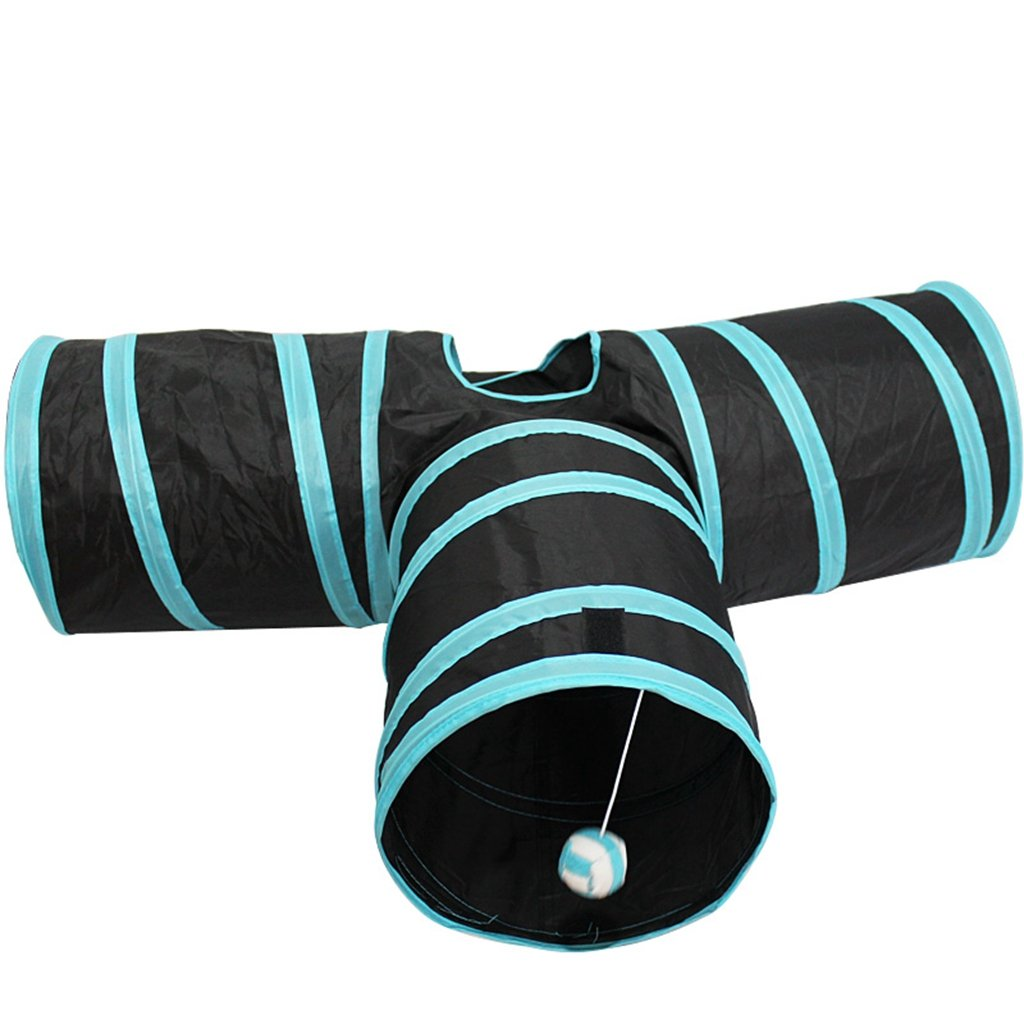 Collapsible 3 Way Cat Tube Toy Cat Tunnel Toy Cat Tents for Kittens,rabbit
