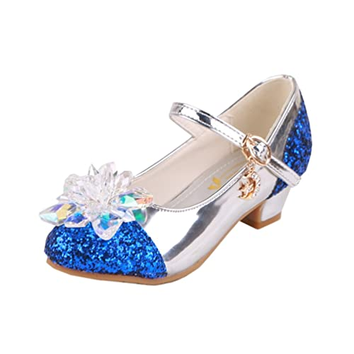 Tacones de fiesta de las muchachas de flor Zapatos de vestido de boda Princesa Sandalia para