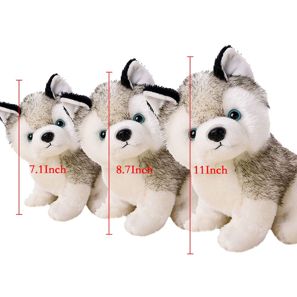 Amazon.com: Realistic Stuffed Animal Husky Dog For 3+ Yrs