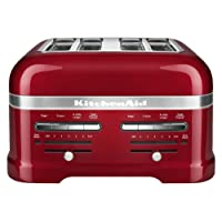 KitchenAid Candy Apple Red 4-Slice Pro Toaster