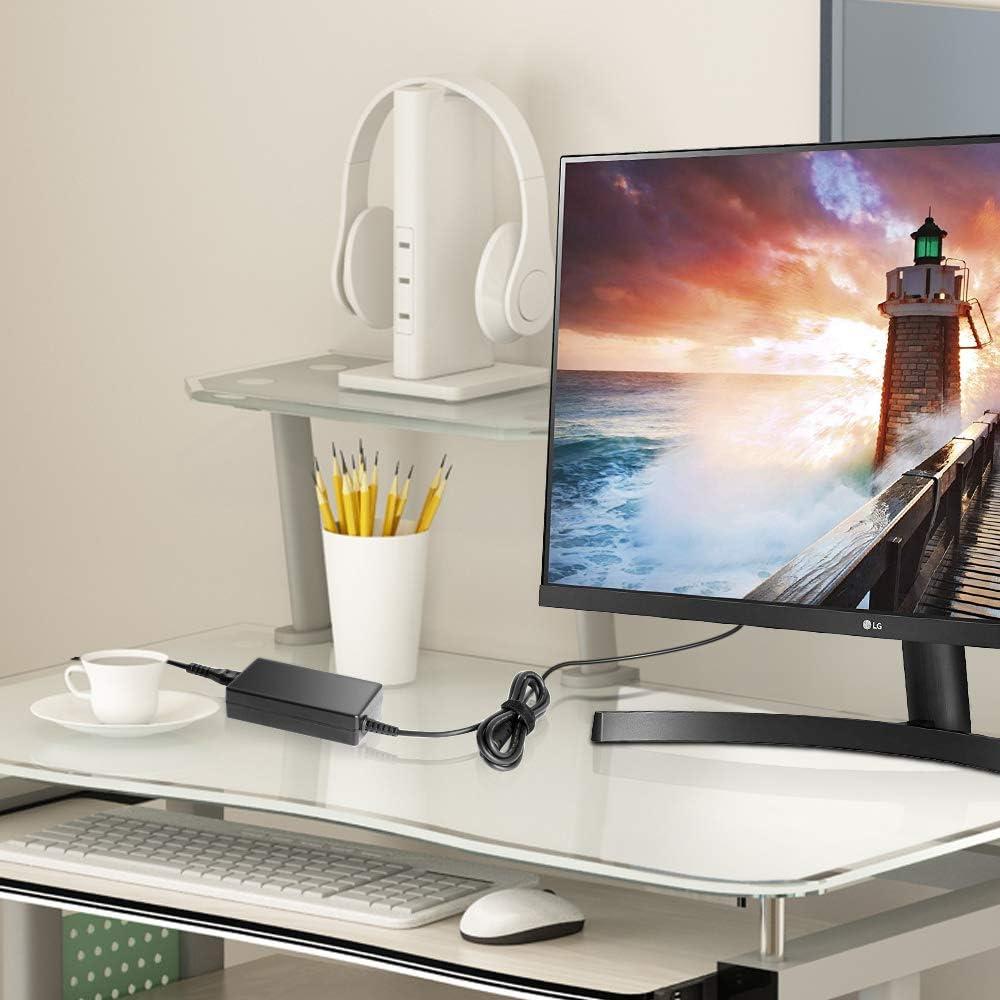 KFD - Cargador para LG (65 W, 40 W, 19 V, Pantalla de PC, LED, 34