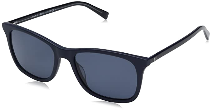 Unisex-Adults TH 1449/S KU Sunglasses, Blue, 54 Tommy Hilfiger