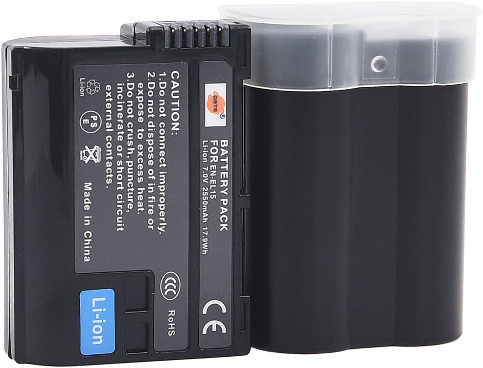 2X EN-EL15 for Nikon D7100 SLR Digital Camera DSTE Pro MB-D15 Vertical Battery Grip