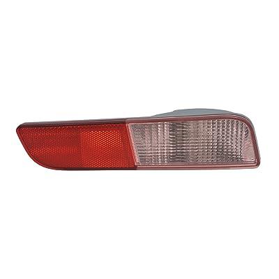 TYC 17-5493-00 Mitsubishi Outlander Right Replacement Reflex Reflector: Automotive