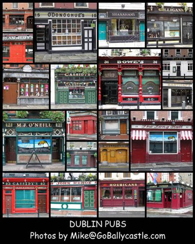 16X20 Pubs Of Ireland Poster Dublin Pubs Collage Poster