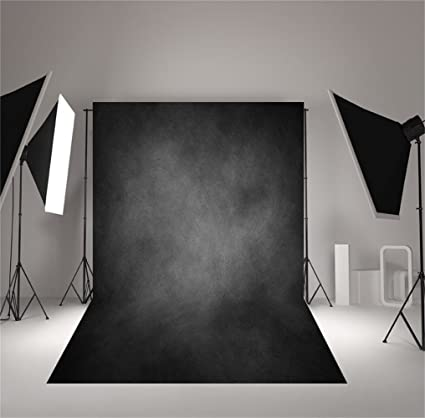 COMOPHOTO Smoke Gray Abstract Photography Backdrop Texture Seamless Polyester Old Master Backdrops Professional Head Shot Portrait