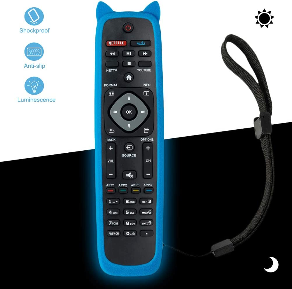 65PFL5602//F7 40PFL4901//F7 and More 75PFL6601//F7 43PFL4901//F7 Bincolo NH500UP Remote Control Replacement for Philips TV 32PFL4902//F7 55PFL5602//F7 50PFL5602//F7