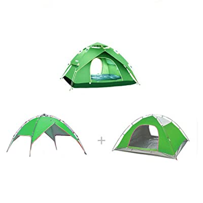 Tentes 3 Saisons Pour Camping 2-3 Personne Camping Tentes Tente Backpacking,Green2-L