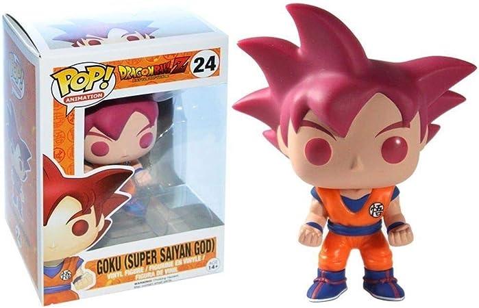 Funko - Figurine DBZ - Son Goku Super Saiyan God Exclu Pop 10cm - 0849803048426