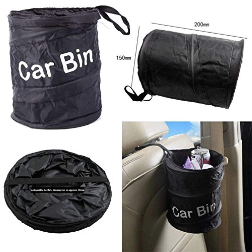 impermeable Sunwan contenedor de basura Papelera plegable para coche para papelera