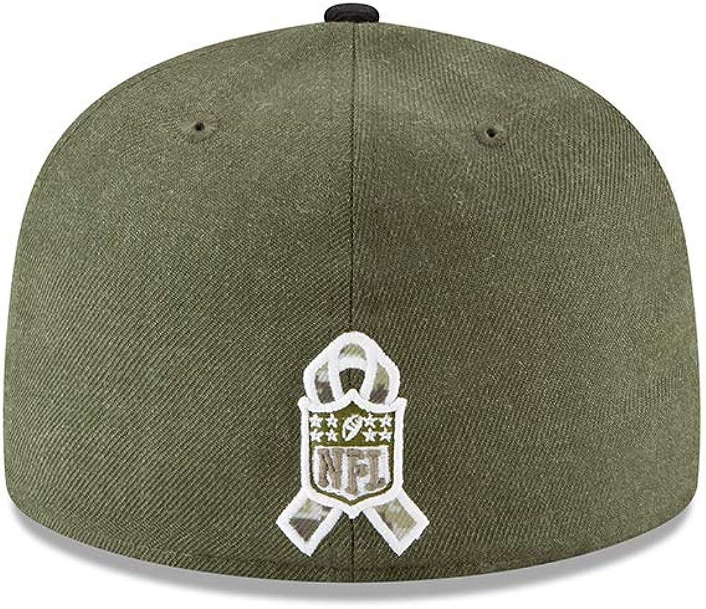 Salute to Service Philadelphia Eagles Oliv New Era 59Fifty Cap