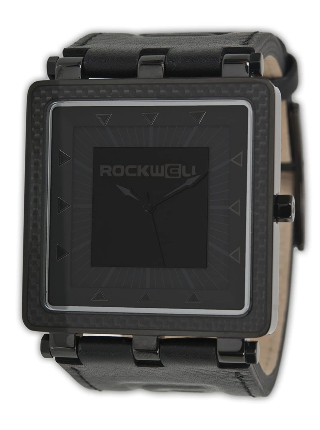 Rockwell CF Carbon Fiber Black Leather- Phantom CF108 Armbanduhr