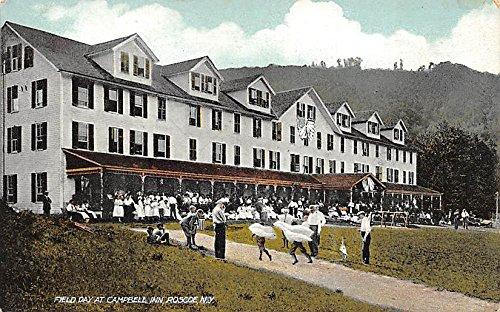 campbell-inn-field-day-roscoe-new-york-postcard