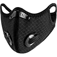 ATTICA Face Mask with Filters - Reusable Washable Adjustable Face Mask for Running, Cycling, Outdoor Activities