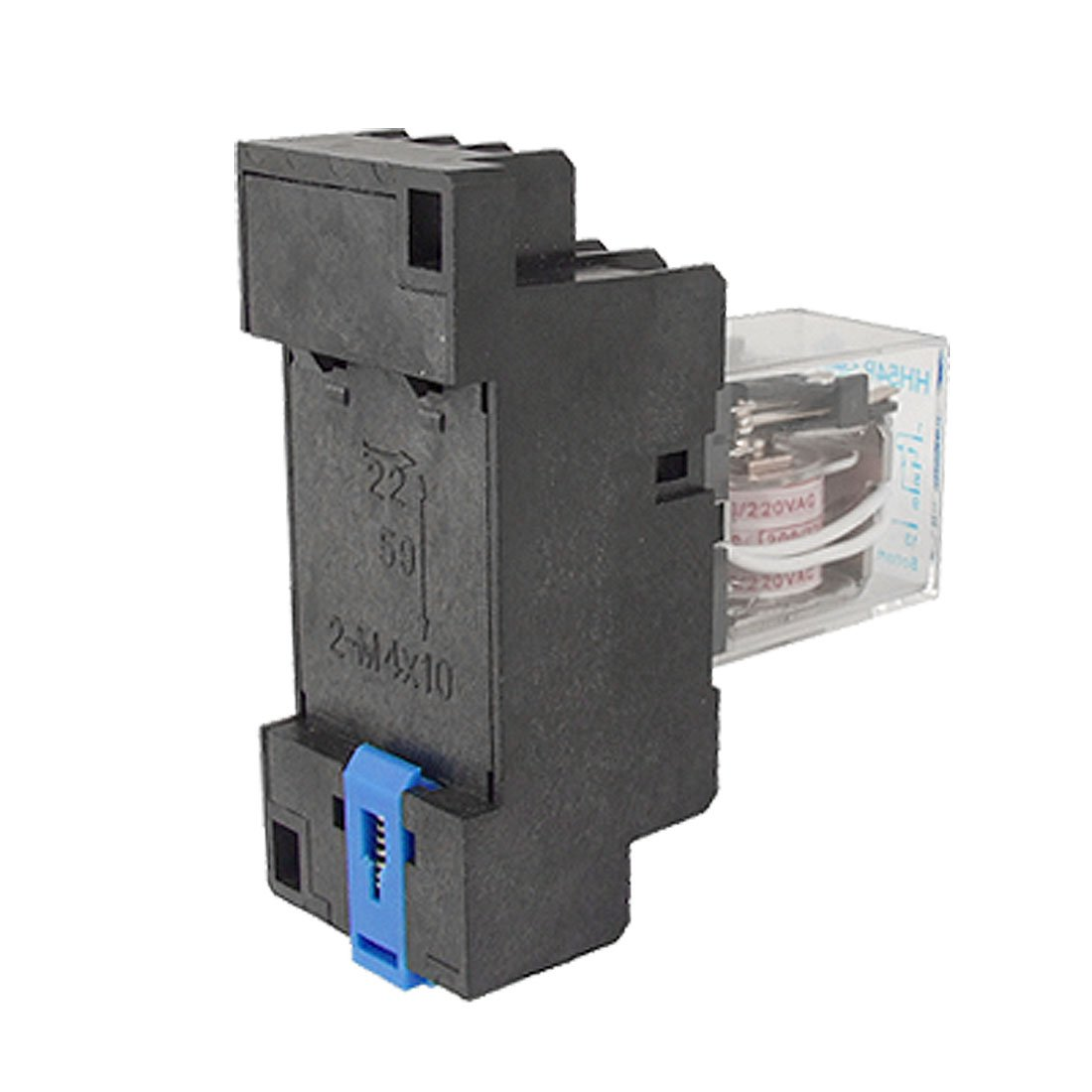 uxcell DC 12V Coil 4PDT General Purpose Relay HH54P 14 Pin w PYF14A Socket a11063000ux0055