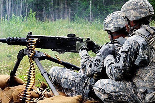 Soldier engages Targets downrange on The M2 50 Caliber for sale  Delivered anywhere in Canada