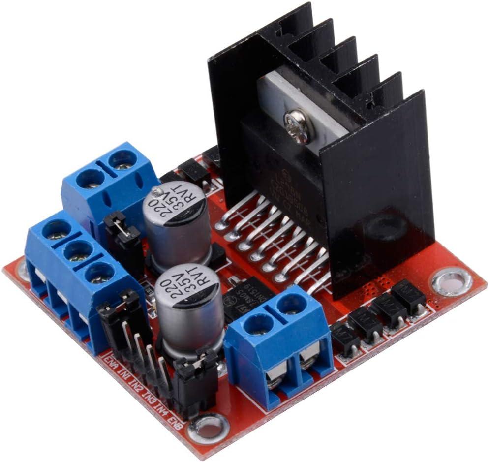 Dual H for Arduino Control DC Stepper Driver Motor Bridge Board L298N BSG