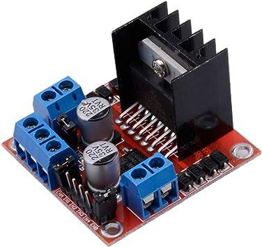 DC 5V-12V Multi-función 2 fase//4 fases Controlador de Motor Paso A Paso Módulo Controlador