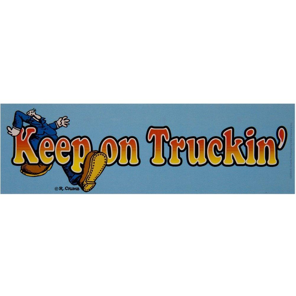 Old glory r crumb keep on truckin decal amazon co uk car motorbike