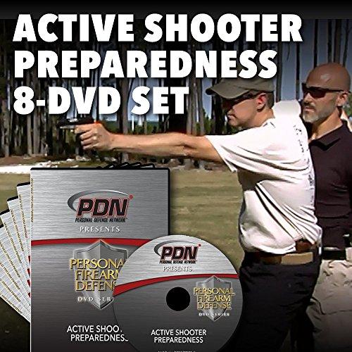 Active Shooter Preparedness 8-DVD Set / Personal Defense Network