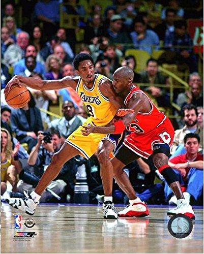 Michael Jordan Photo - Kobe Bryant & Michael Jordan NBA Action Photo (11