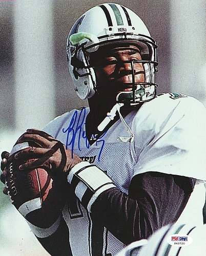 Byron Leftwich Signed 8x10 Photograph Marshall - Certified Genuine Autograph By PSA/DNA - Autographed Photo