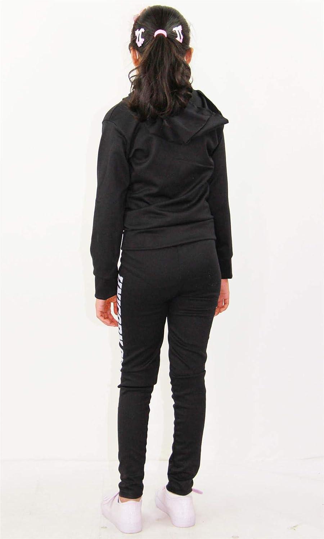 A2Z 4 Kids/® Kids Girls Tops Designers Unicorn Off Duty Print Hooded Crop Top /& Legging Lounge Wear Set New Age 7 8 9 10 11 12 13 Years