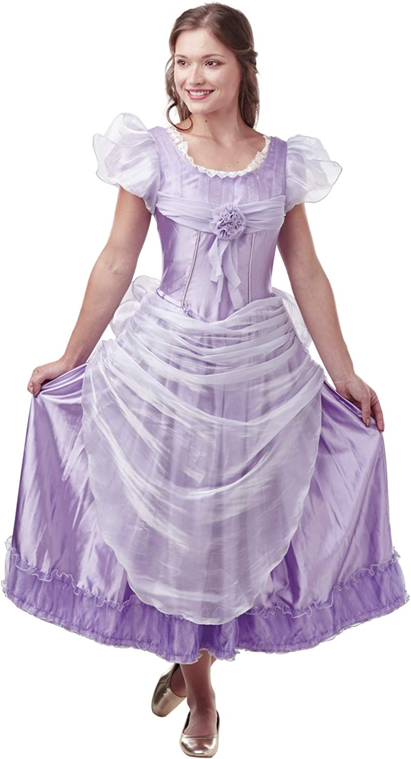 Victorian Kids Costumes & Shoes- Girls, Boys, Baby, Toddler Rubies Official Disney The Nutcracker Clara Lavender Deluxe Adult Ladies Costume UK Size Small 8-10 $88.06 AT vintagedancer.com