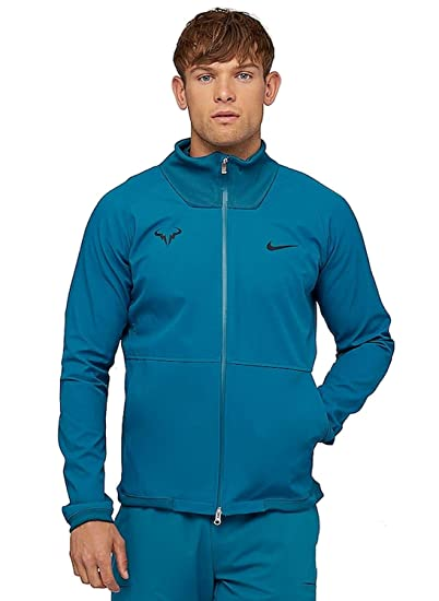 7d7401a20 Amazon.com : Nike Men's Rafa Court Tennis Jacket (Large, Green Abyss ...