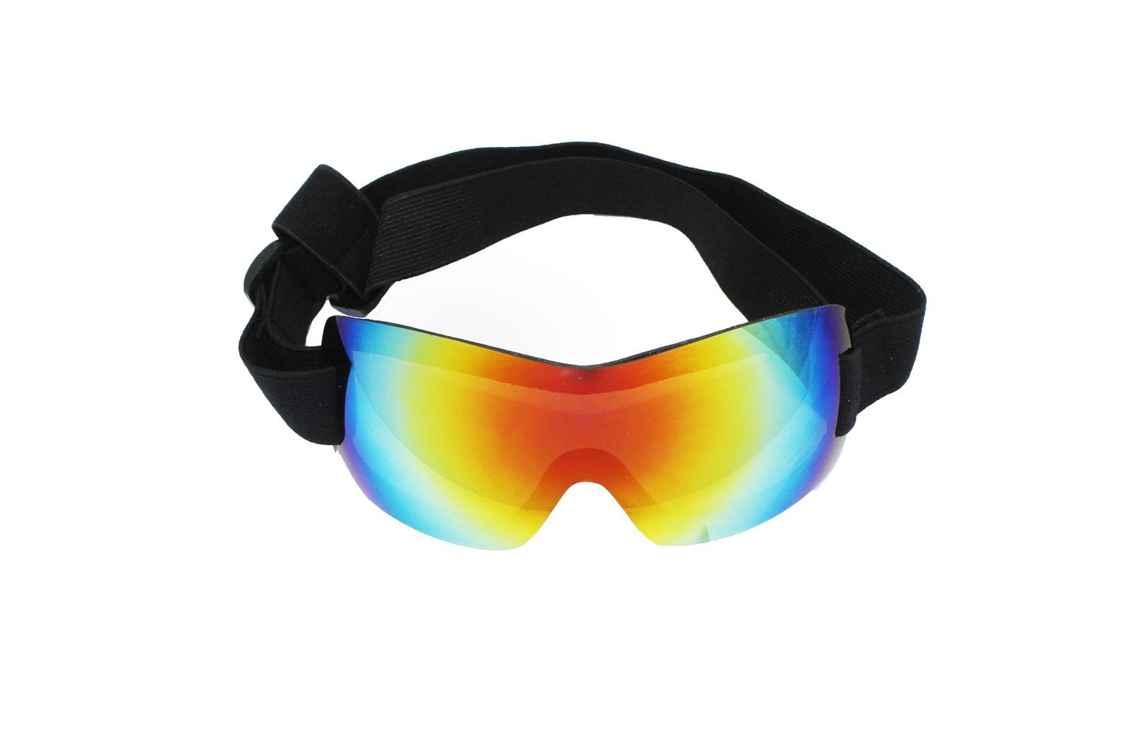 Dog Sunglasses Ski Goggles - PetRich Eye Wear UV Protection, Waterproof Multi-Color Pet Sunglasses with Adjustable Strap for Large Dogs Travel, Skiing,Surfing,Driving Including Humanized Design