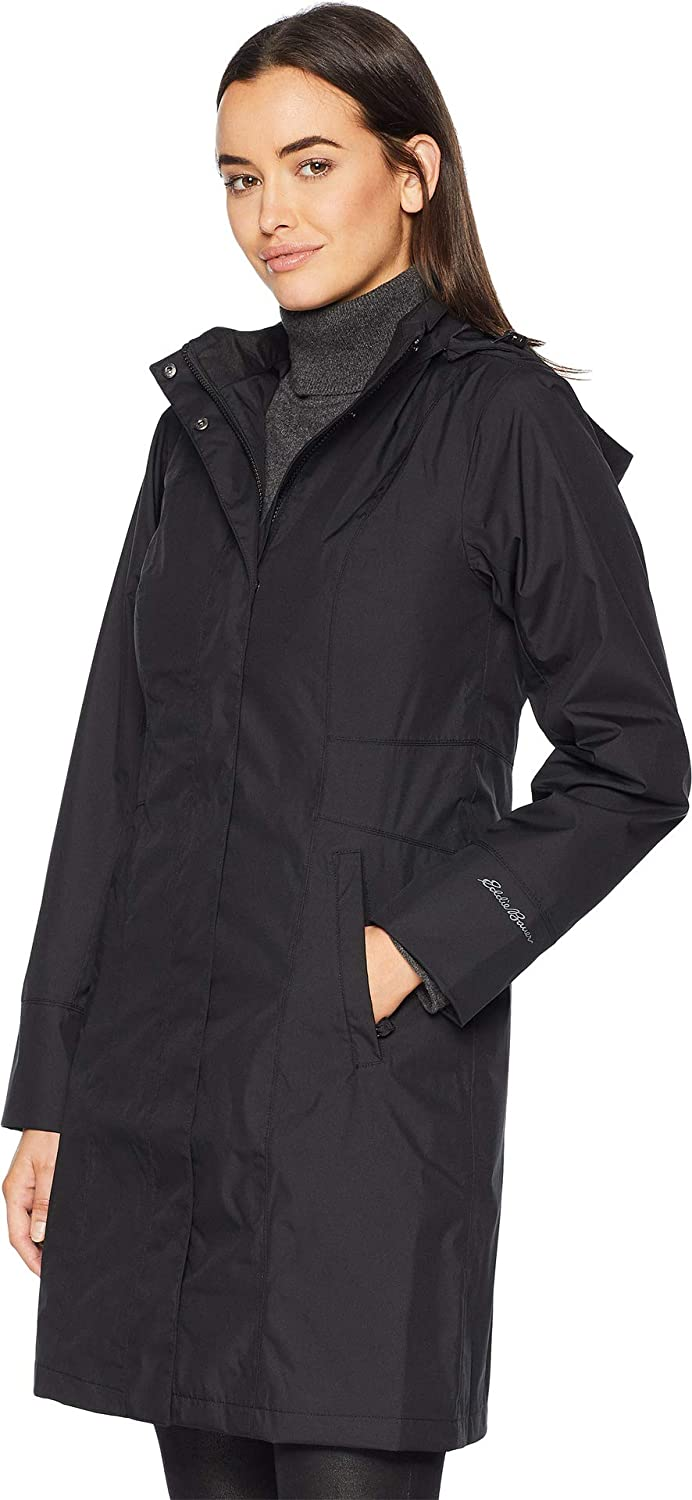 3788753c5 Eddie Bauer Womens Girl On The Go¿ Trench Coat at Amazon Women's ...