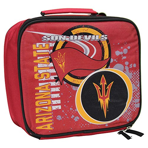 y NCAA Team Logo Accelerator Lunch Box (ASU Sun Devils) (Devils Lunch Box)