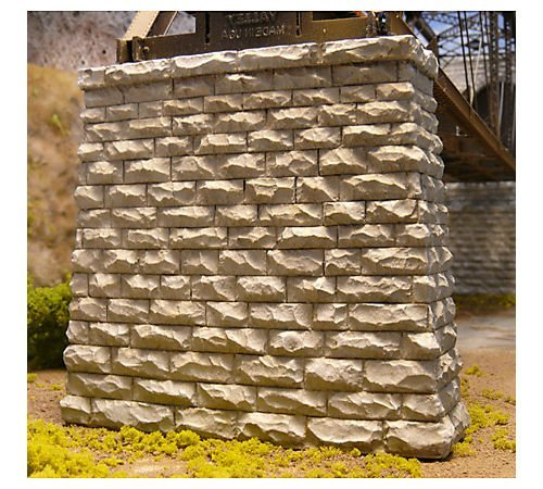 Chooch Enterprises CHO9831 N Cut Stone Bridge Pier, Rectangular (2)