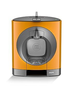Krups Dolce Gusto OBLO Independiente Máquina de café en cápsulas 0.8L Negro, Gris,