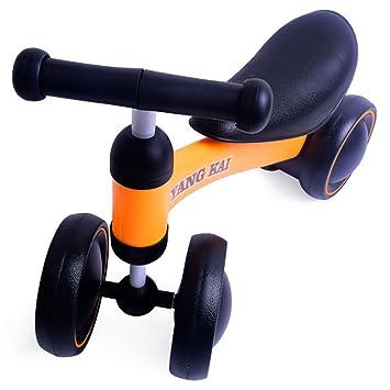 Mecotech Andador Bebe Cuatro Ruedas Correpasillos Bebes Balance Bike Exterior y Interior para Niños, 1-3 Años