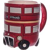 Papillon Gift mug 3D en forme de bus rouge londonien