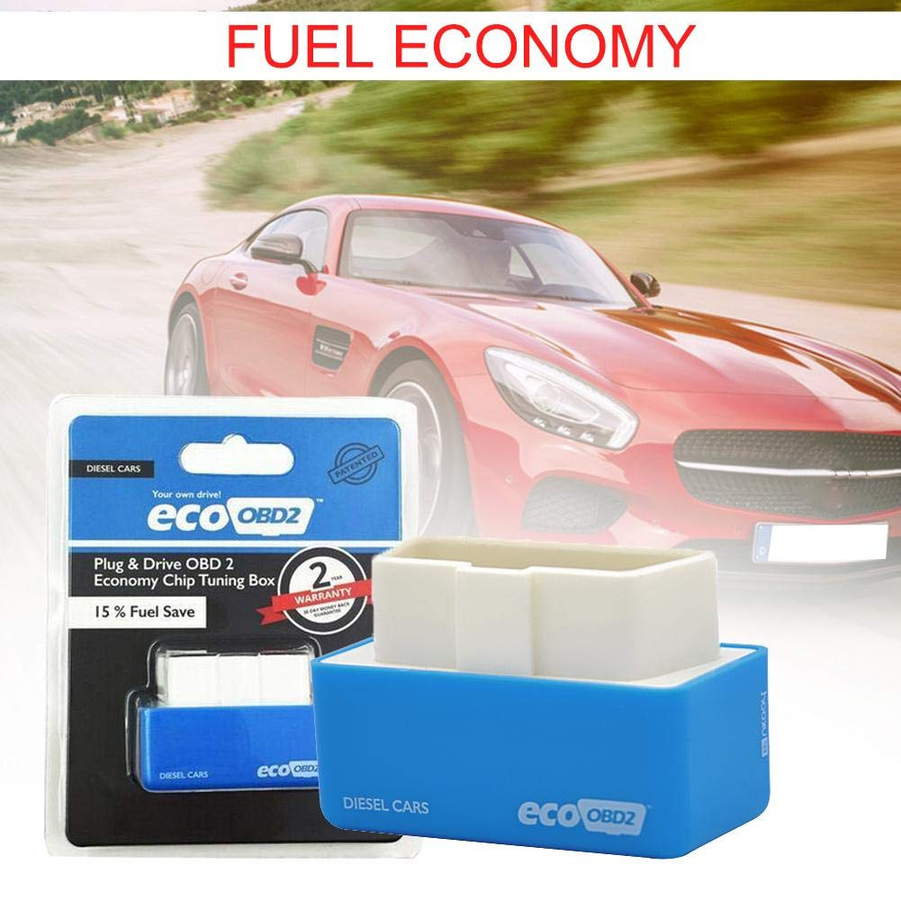 ecofuel chip for Cars Chip Tuning Box Diagnostic Instrument Fuel Saver EcoOBD2 Economy Car Vehicle Chip Tuning Box Gas Diesel Plug Drive Fuel Save