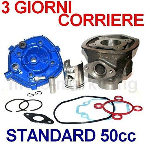 Unbranded 50 CC Cilindro Gruppo Termico PISTONE Testa Kit per Aprilia SR Racing Factory