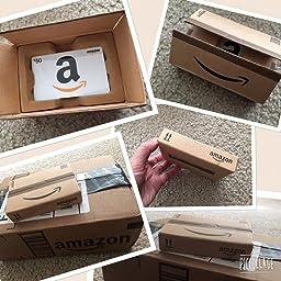 Wedding Gift Card Box Amazon : ... in a Mini Amazon Shipping Box (Amazon Icons Card Design): Gift Cards