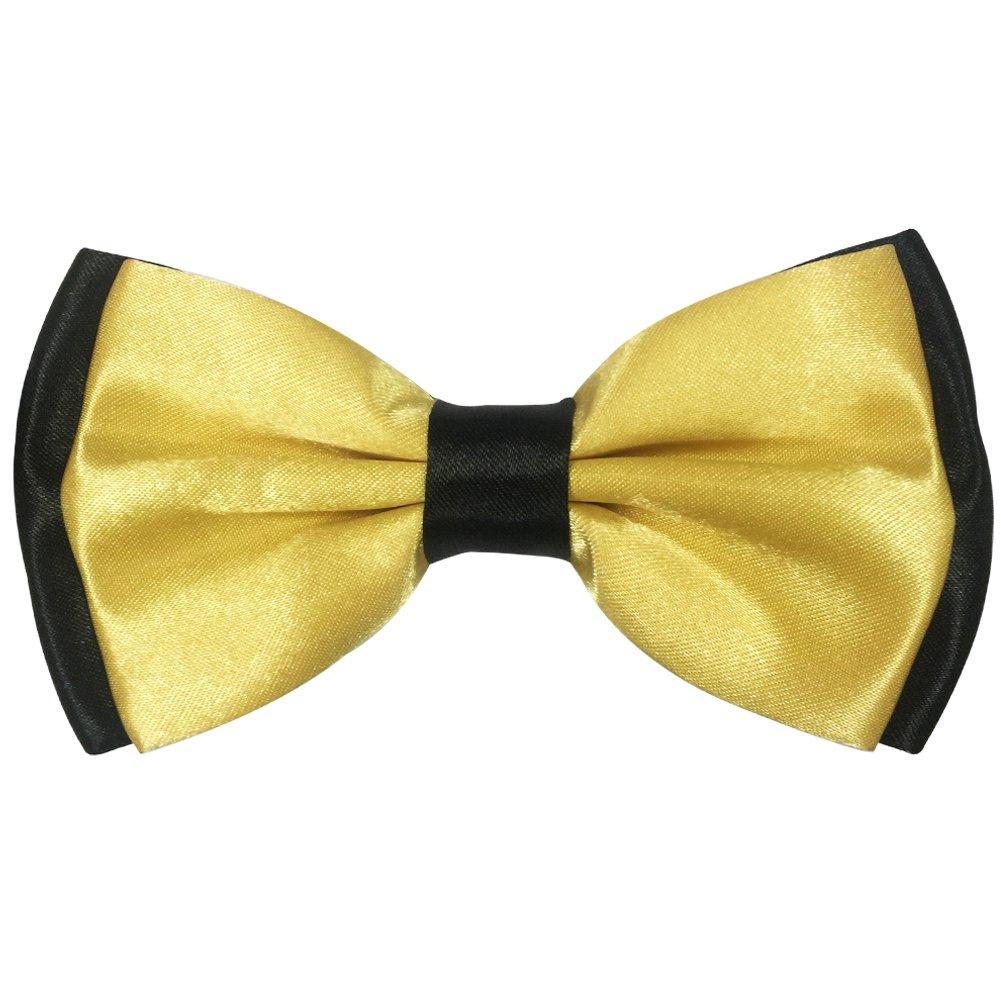 FASINUO ACCESSORY メンズ Light Yellow and Black Light Yellow and Black B078S8PVNN