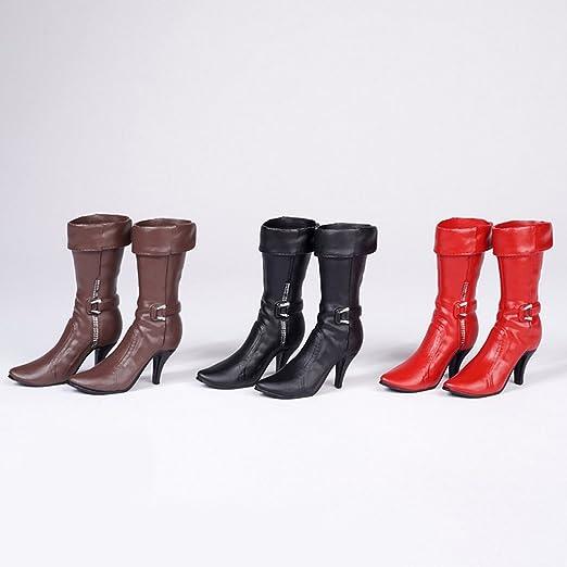 Sharplace 3 Par de Escala 1: 6 Zapatos Botas de Tacón Alto para 12inchs Cuerpo de Figuras de Acción Femeninas cfp3GqC4