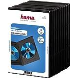 Hama Boîtiers double DVD - 10 pieces – Noir
