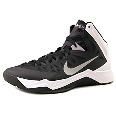reputable site 68301 768db Amazon.com   Nike Zoom Hyperquickness TB Mens Basketball Shoes 599420-001  Black Size 11   Basketball