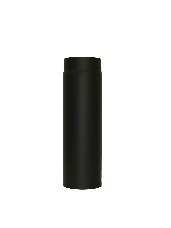 Lanzzas Chimney Oven Pipe Flue Extension 500mm Diameter 150mm Black LANZZAS ®