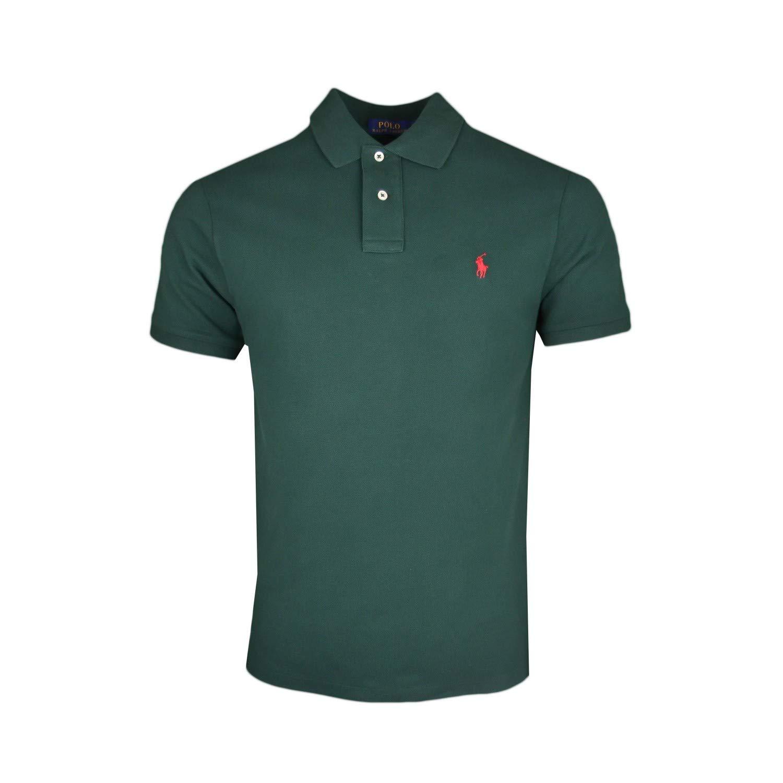 Ralph Lauren - Polo - Chaqueta - para Hombre Verde M: Amazon ...