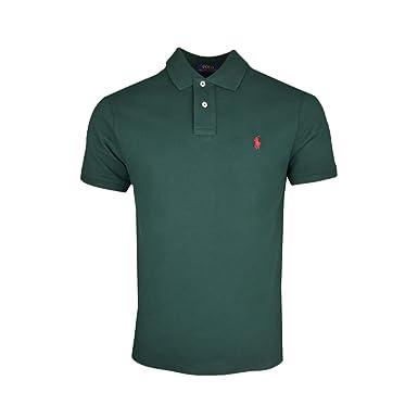 Ralph Lauren - Polo - Chaqueta - para Hombre Verde M: Amazon.es ...