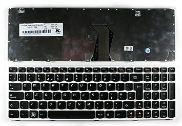 IBM Lenovo IdeaPad Z580 White Frame Black UK Layout