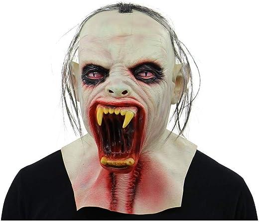 WANG XIN Máscara de látex Zombie Máscara de Zombie aterradora con ...