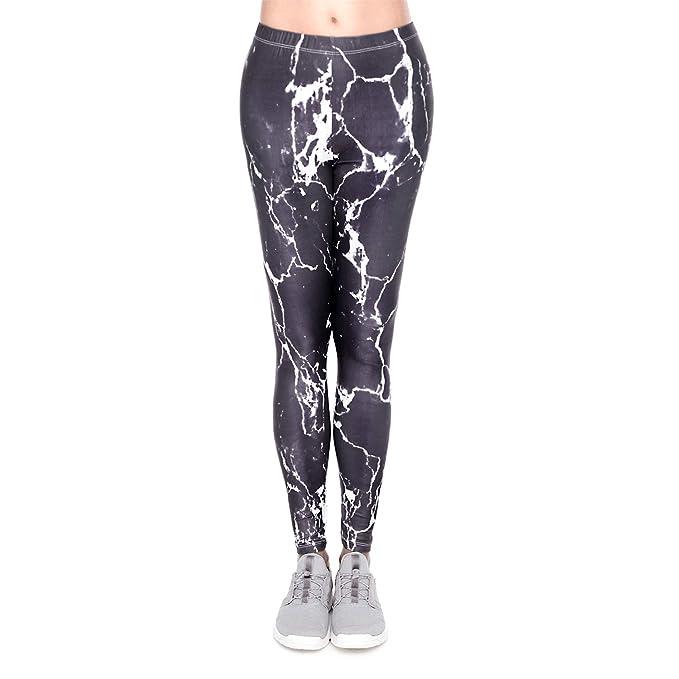 d157971df456 Yumilok Mallas Deportivas Mujer Leggins Yoga Pantalon Elastico ...